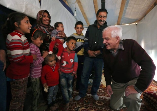 Mideast Lebanon Canada Refugees