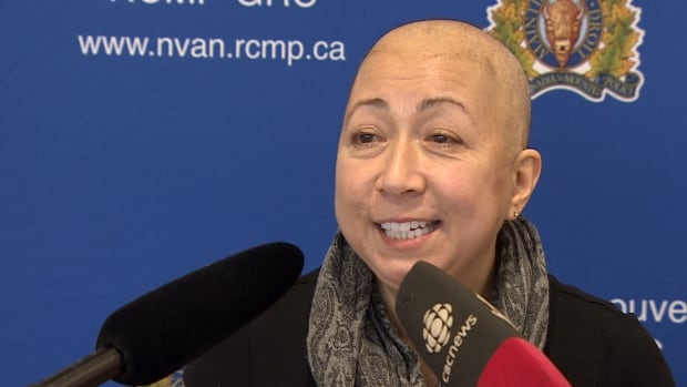 Nancy Taylor is an auxiliary member of the RCMP who has been diagnosed with leukemia.