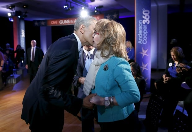 Barack Obama Gabrielle Giffords