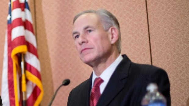 Texas Gov. Greg Abbott spoke at a joint news conference with Republican presidential candidate Sen. Ted Cruz in December calling for a ban on any refugees from Iraq, Syria or other countries deemed to be controlled by a foreign terrorist organization.  Abbott repeated that call in a statement on Thursday.