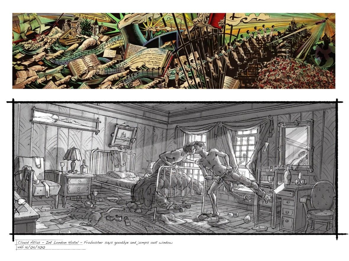 Nova Scotia artist Kurt van der Basch is storyboard artist