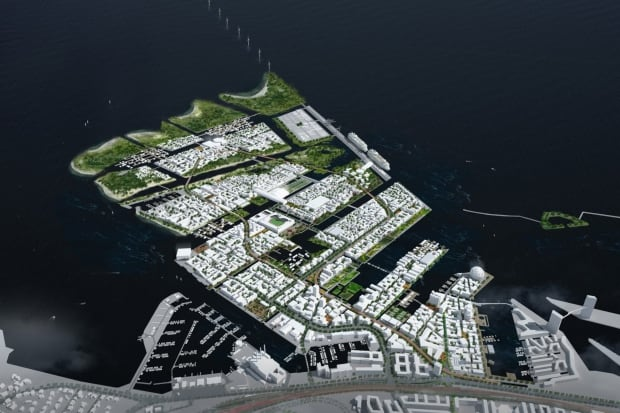 Nordhavnen in Denmark will take 50 years to complete.