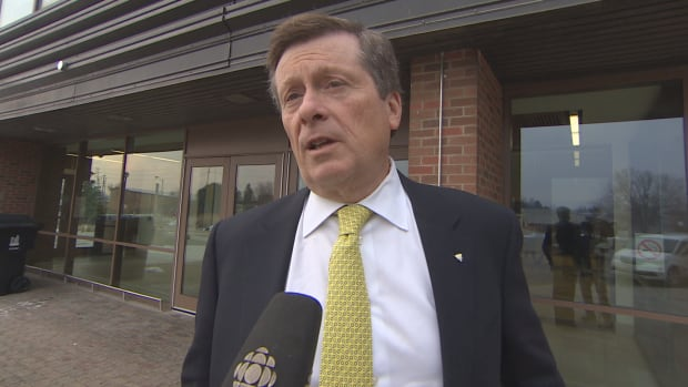 "Mayor John Tory says legalizing marijuana is a ""complicated matter"" but Blair is the ""ideal person to take a look at that."""