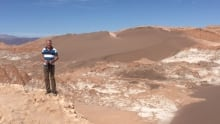 Bob McDonald in the Atacama desert of Chile