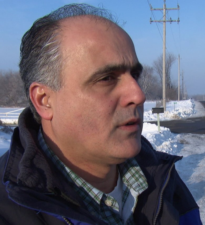Osgoode Councillor George Darouze supports the proposed medical marijuana farm in his ward