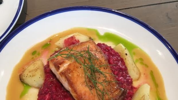 The salmon was a stand-out for Campbell who was impressed with Workshop's 'hyper local' menu.