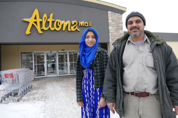 Doaa and her dad