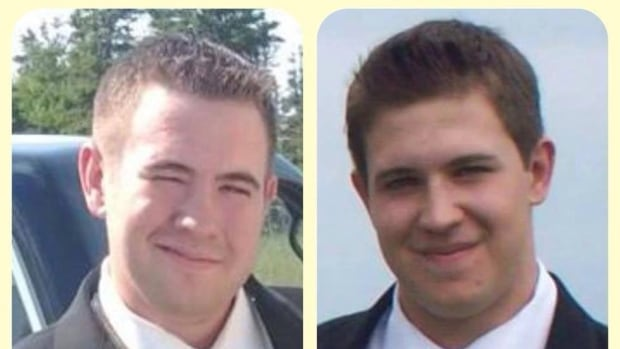 Morgan MacIntyre (left) and Logan MacIntyre (right) were two of three people who died in a 2013 car crash in Port Hood, N.S.