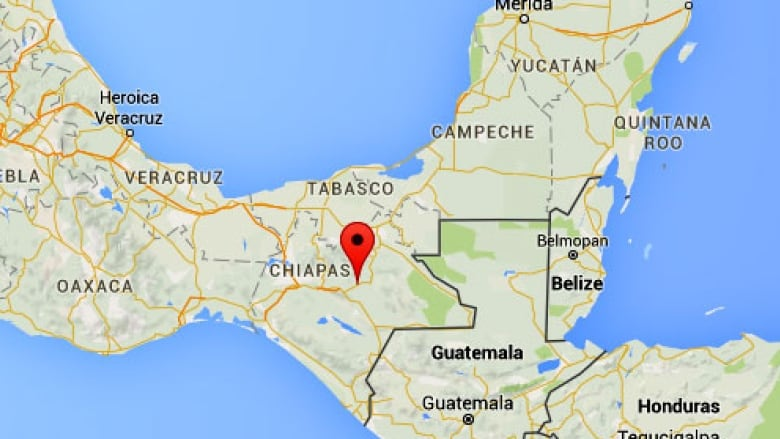 Chiapas Mexico Map Canadian tourists in Mexico caught up in Chiapas turmoil | CBC News