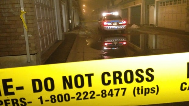 Police say a house party was underway near Cook Road and Leitch Avenue when an argument between two groups of men led to a stabbing.