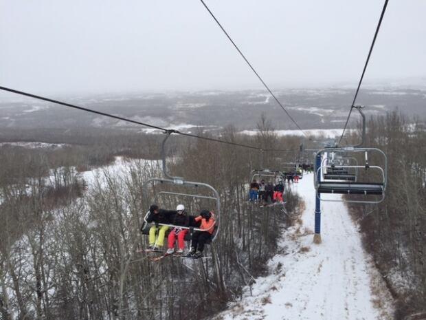 Saskatchewan - ski - Table Mountain