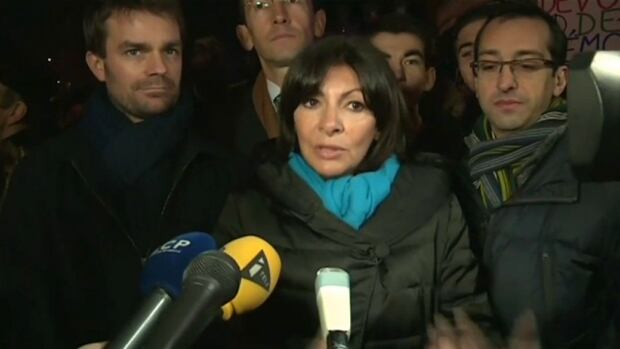 Paris memorial - 1 year after Charlie Hebdo attack