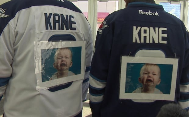 Kane crying