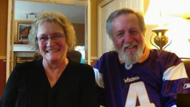 Elaine Methot and Craig Monley from Kelowna, B.C., were identified as the 'Alberta Angels' who stopped to help a Florida couple who were in a devastating motorcycle accident.