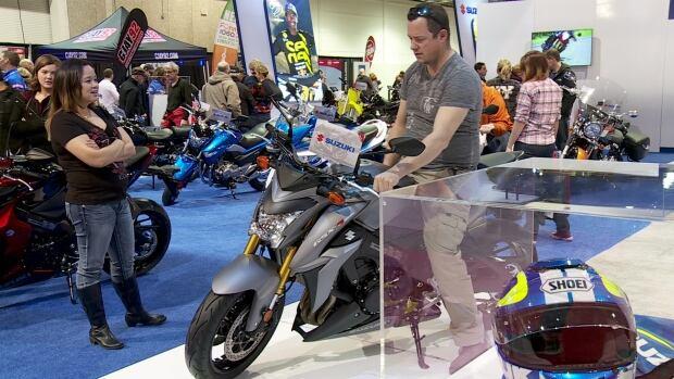 Calgary motorcycle show