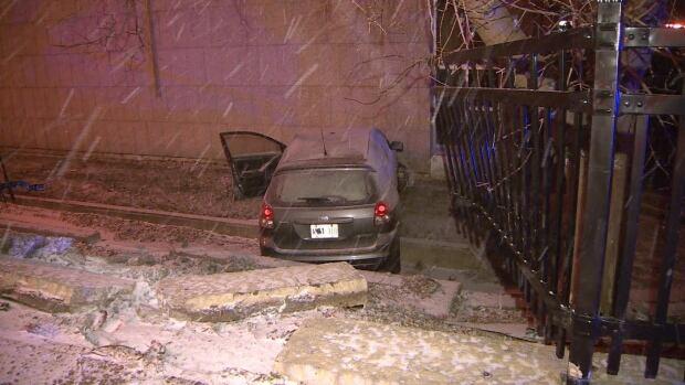 SUV crash Weston