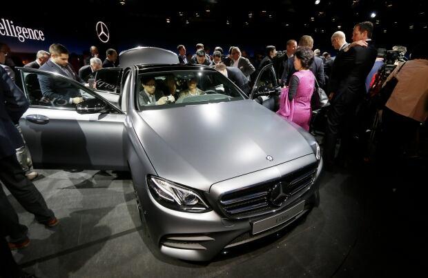 Auto Show Mercedes Benz