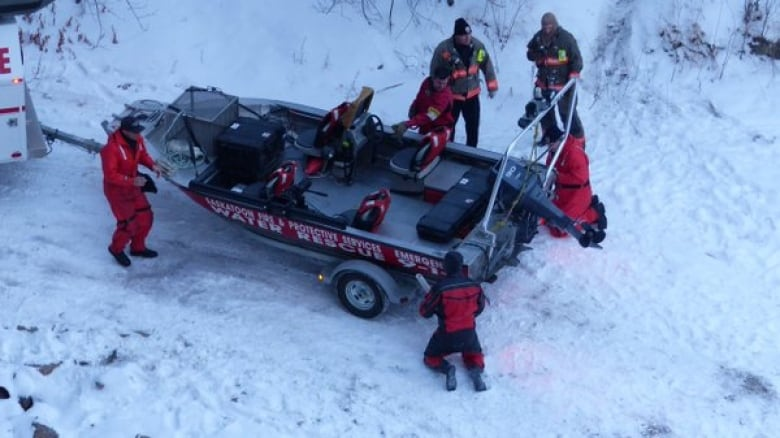 Search cancelled for woman who reportedly jumped from