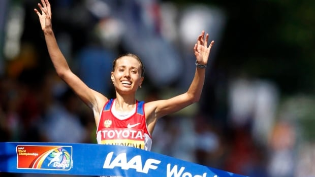Olga Kaniskina, a silver medallist in the 20km race walk at the London Olympics, was one of four Russian athletes that should have received suspensions prior to the 2012 Games.
