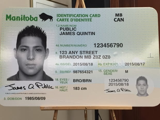 Manitoba's new Personal Identification Card