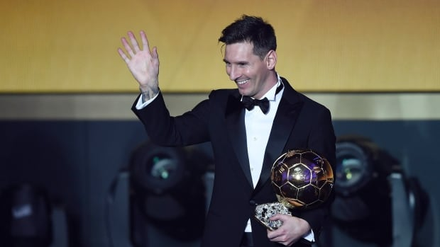Argentina's Lionel Messi ended Cristiano Ronaldo's two-year hold on the Ballon d'Or trophy on Monday to lift soccer's top individual honour.