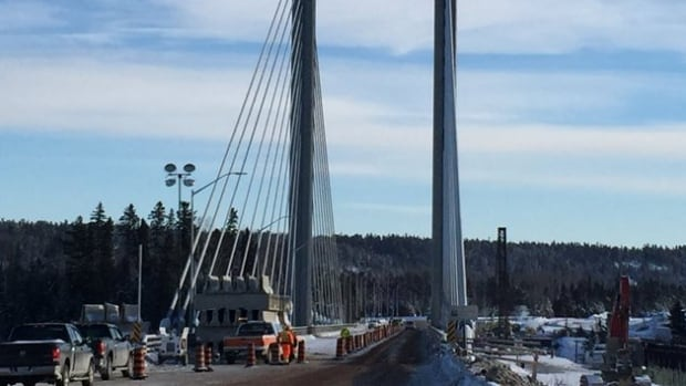 The Nipigon River bridge heaved apart in January, 2016 closing the Trans-Canada highway for 24 hours.
