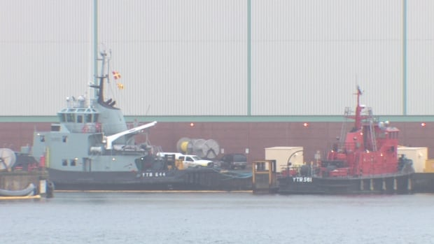 The navy in Halifax is currently served by three main tugs and two smaller fire boats. Esquimalt, B.C., has two tugs.