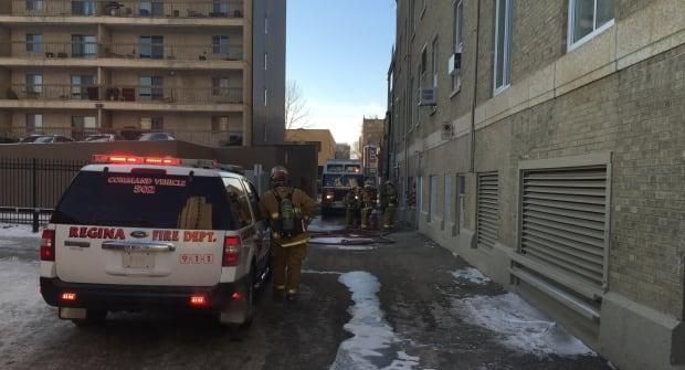Hotel Saskatchewan fire Regina