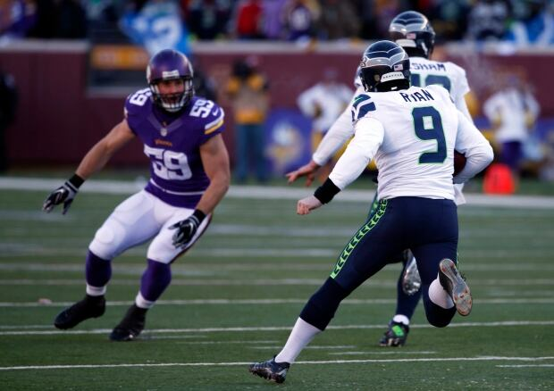 Seahawks Vikings Football