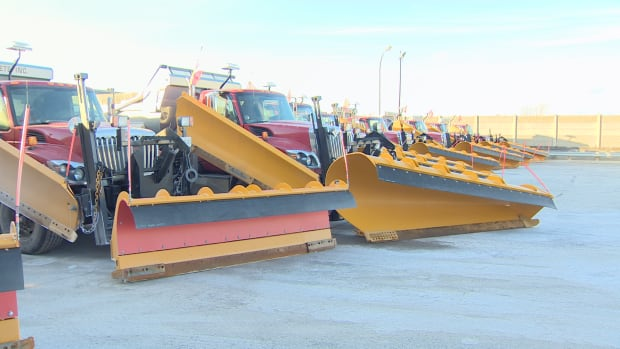 If you see a plow or salter on the road, be sure to stay 150 metres away to allow city workers to safely do their job.