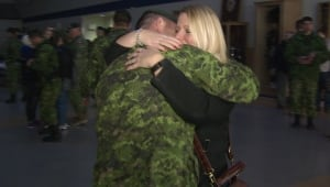 Soldiers arrive in Gagetown