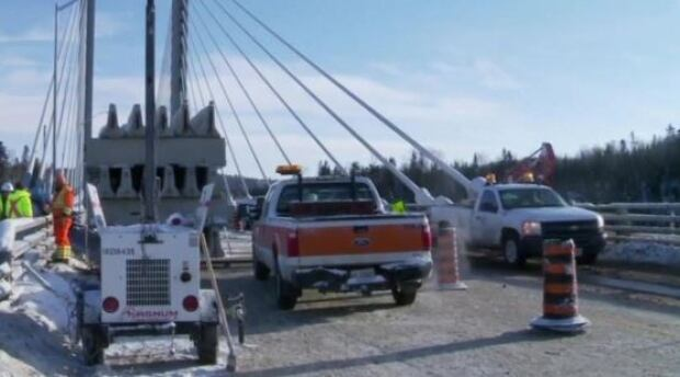 Nipigon River Bridge repairs