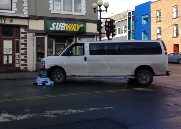 Water Street pedestrian knocked down