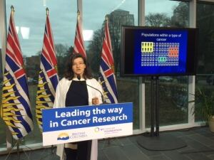Dr Janessa Laskin, Medical Oncologist and Senior Scientist at the BC Cancer Agency