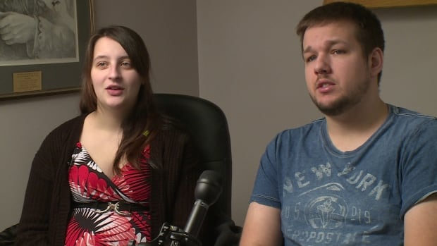 Meagan Messier and Mark Fradsham say they are not happy with the mental health care provided by Labrador-Grenfell Health.