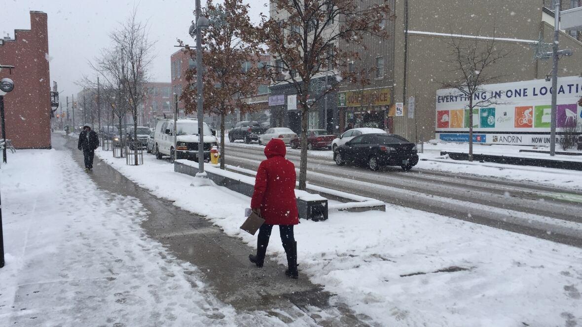 Kitchener Weather: Fresh Snow For Back-to-school Commute In Waterloo Region