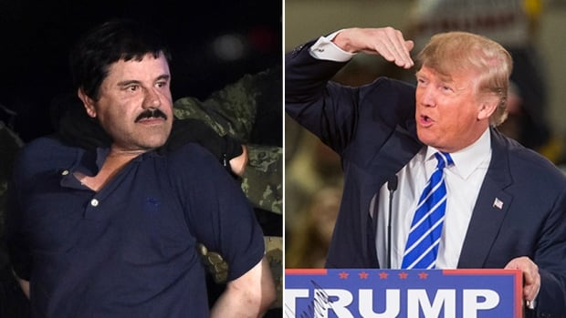 Joking or not, many online seem to like the idea of El Chapo putting an end to Donald Trump's 2016 presidential campaign.