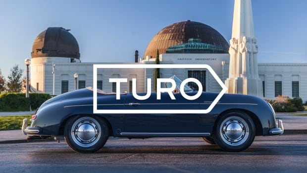 Turo is a car-sharing service that allows people to rent their vehicles to strangers for a fee.