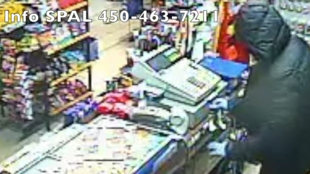 Longueuil police released a video showing a Dec. 25 dépanneur robbery.