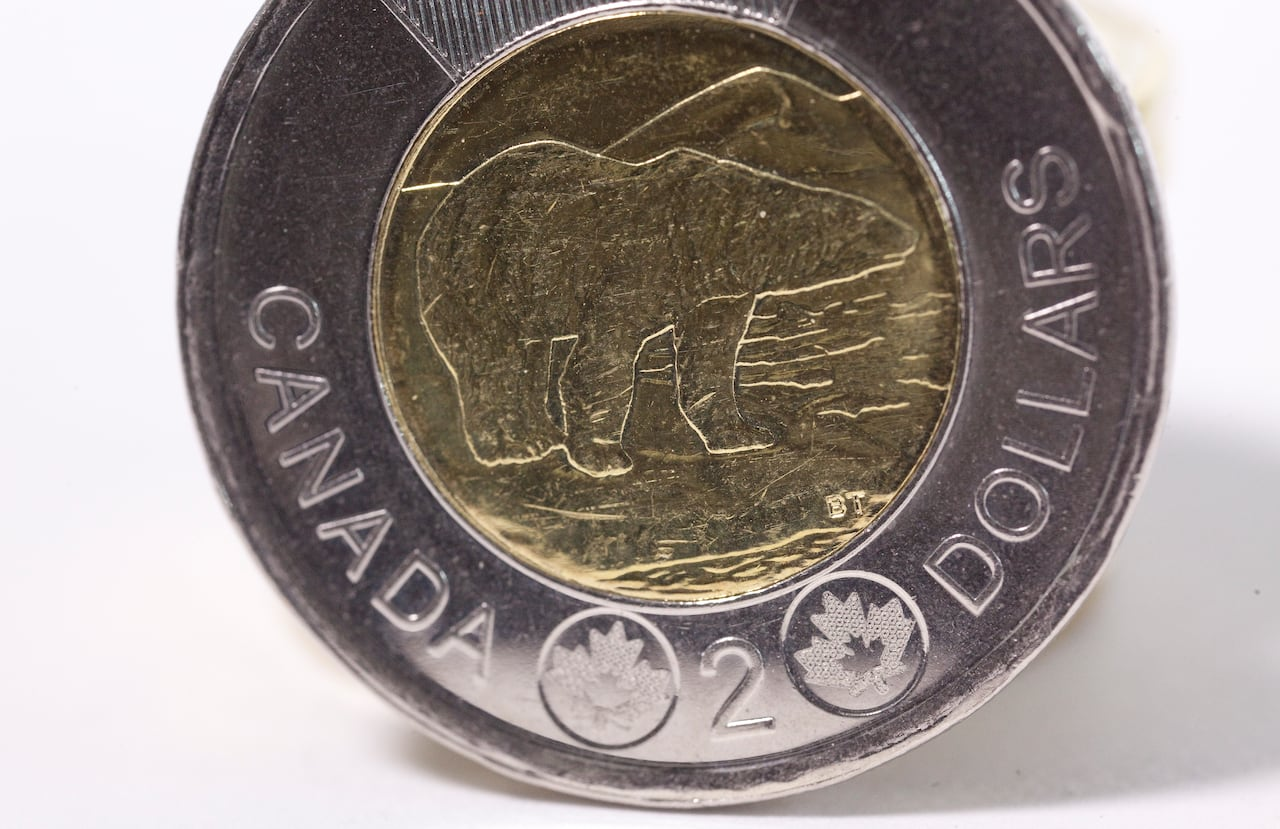 1996 Canada Canadian Toonie $2 Coin Circulated