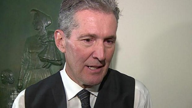 Progressive Conservative Leader Brian Pallister says if elected, he will change political party funding rules.