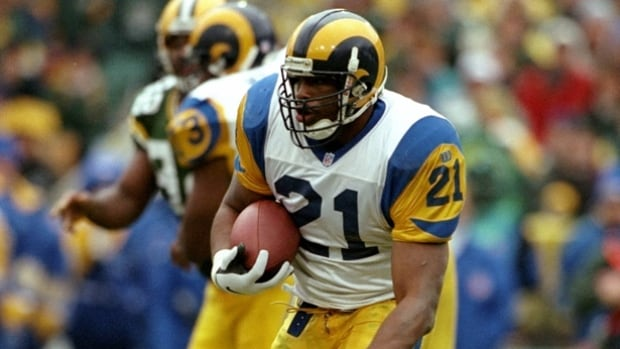 Lawrence Phillips played for three NFL teams, including the Rams, as well as the Montreal Alouettes and Calgary Stampeders of the CFL.