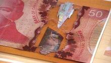 Counterfeit $50 bill