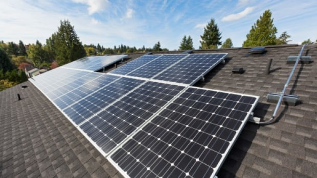 The oil and gas town of Devon is trying to diversify its economy by building new solar initiatives and creating new homeowner incentives.