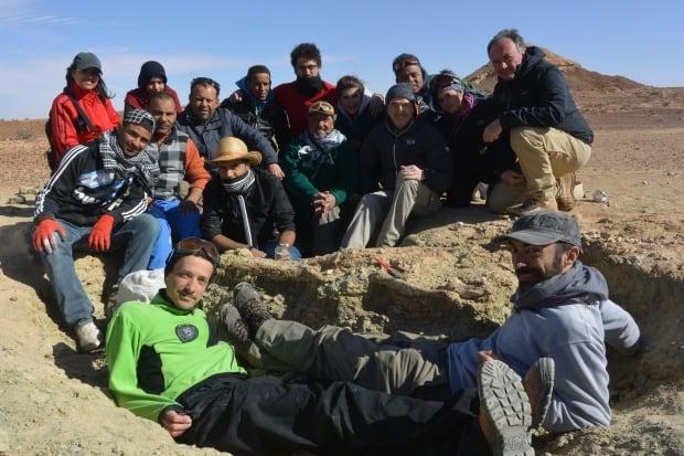 Machimosaurus rex field team