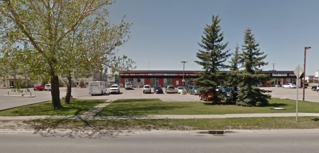 Eastlake Wine and Spirits liquor store, Airdrie