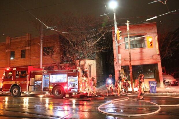 bathurst street restaurant fire