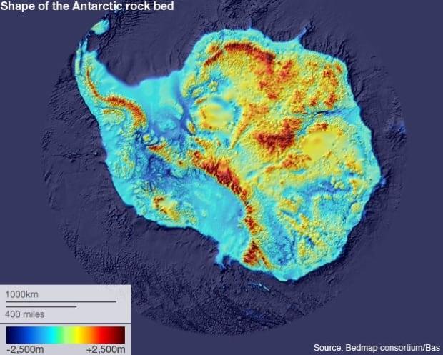 Antarctica map 1