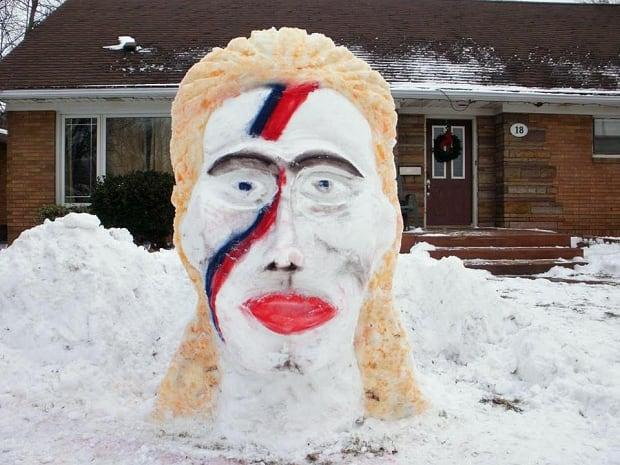 David Bowie Sculpture 3