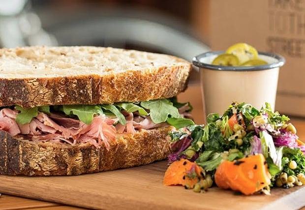 Sidewalk Citizen sandwich